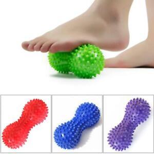 Peanut Shape Spiky Massage Ball Foot Trigger Point Body Stress Relief Massager