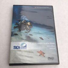 Sdi Open Water Scuba Diver Diving International Dvd