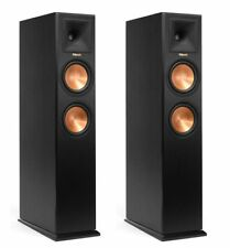 PAIR FLOOR STANDING SPEAKERS KLIPSCH RP-260F RP260F BRAND NEW ! WARRANTY BLACK