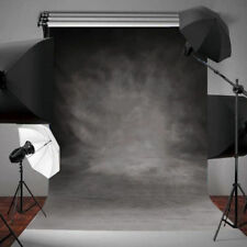 Vinyl Retro Grey Cloth Backdrops Photography Studio Props Photo Background 3X5FT