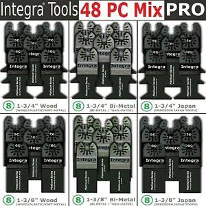 48 Pc Oscillating Multi Tool Saw Blade For Fein Multimaster BOSCH Ridgid Makita