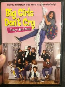 Big Girls Don't Cry They Get Even region 1 DVD (1991 family comedy movie)