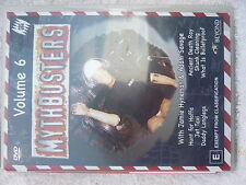 MYTHBUSTERS VOLUME 6,JAMIE HYNEMAN ADAM SAVAGE, DVD E R4