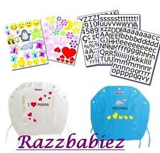 New Accessory styling kit for your buggy shade! Fun stickers, words and numbers!