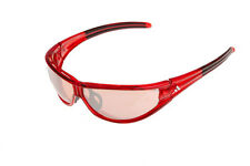Adidas A266 /00 Evil Eye L 6055 Frames Red and Black Authentic Sunglasses