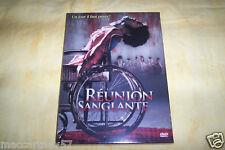 DVD REUNION SANGLANTE UN JOUR IL FAUT PAYER FILM D'HORREUR