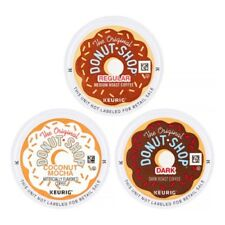 100 K-Cups! - The Original Donut Shop Coffee, Variety Mix - Keurig Coffee Lot