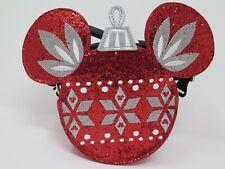 Disney Parks Mickey Ornament Crossbody Purse Bag Dress Shop Christmas 2018 Icon