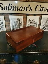 More details for antique victorian writing slope with working key