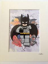 Lego - DC Comics - Batman - Hand Drawn & Hand Painted Cel