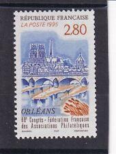 France année 1995 Congrès Associations Philatéliques Orléans  N°2953**réf 4767