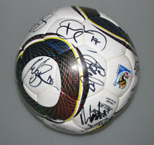 NEW ZEALAND 2010 World Cup Squad Hand Signed  Soccerball + Photo Proof All White
