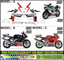 kit adesivi stickers compatibili rsv 1000 2002
