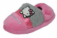 Hello Kitty Persian - Infant/Childrens Hello Kitty Pink/Grey Slippers!