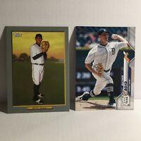 2020 Topps Two Detroit Tigers Matt Boyd MLB Baseball Cards