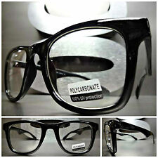 6d2f17c9427 Men s or Women CLASSIC VINTAGE Style Clear Lens EYE GLASSES Black Fashion  Frame