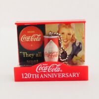 Coca Cola Memorial Figure Collection Diamond Can 120th Anniversary Japan 2006