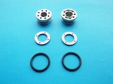 TRIUMPH FRONT FORK DAMPER VALVES WITH WASHERS & 'O' RINGS 1971-83 *NEW*