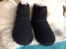 Ugg T IDRIS shoes size 12 black for girls