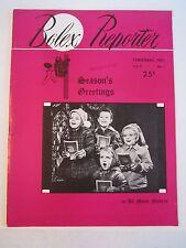 1951 BOLEX REPORTER MAGAZINE - CHRISTMAS EDITION - SEE PICS - TUB QQQ