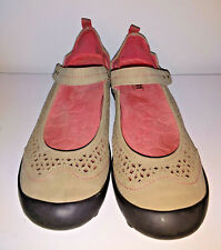 Shoes J 41 ADVENTURE ON Mary Janes Womens Size 8 M Libby Vegan Uppers Tan Pink