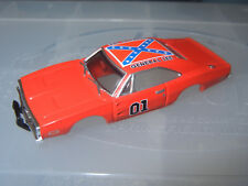 BODY ONLY AUTO WORLD XTRACTION GENERAL LEE SLOT CAR BODY AURORA AFX COMPATIBLE