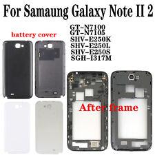 OEM For Samaung Galaxy Note II 2 N7100 SHV-E250 Back Battery Cover housing Frame