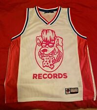 Kid Rock Detroit Piston Style Basketball Jersey T Shirt M Top Dog Records Medium