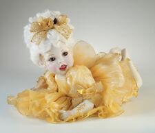 "Marie Osmond ""Faylinn"" Fairy Baby Collection Porcelain Doll - Htf- New Nrfb"