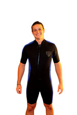 3X Shorty Wetsuit - Front Zip Off Style - Men's or Taller Women - 2100