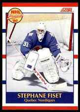 1990-91 Score Stephane Fiset Rookie #415