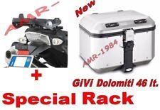 BAULE GIVI TREKKER DOLOMITI DLM46  46 lt.+ PIASTRA SR689 BMW  R1200 GS 2004-2012