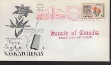 Canada - Saskatchewan - 425 U/A Fdc - Rose Craft Cachet - 1966