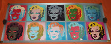 Marilyn Monroe Pop Art 134 cm x 56 cm Andy Warhol