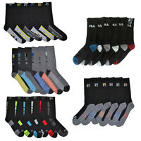 Fila Men's 6 Pairs AbsorbDry Athletic Crew Socks