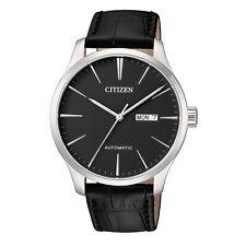 Citizen NH8350-08E Men Automatic Leather Strap Analog Watch
