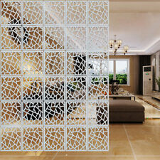 12Pcs Hanging Screen Living Room Divider Wall Panels Partition DIY Home Decor