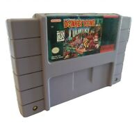 Donkey Kong Country SNES Super Nintendo Game Cartridge