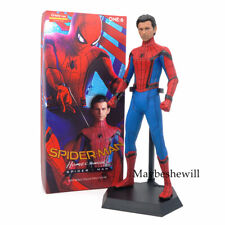 Marvel Super hero Spiderman Homecoming Crazy toys 30CM PVC Statue Collection Toy