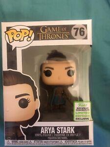Pop! Funko Game of Thrones - Arya Stark - 2019 Spring Convention !!!