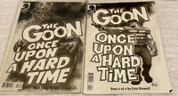 """THE GOON """"ONCE UPON A HARD TIME"""" #3 & 4 of 4 2015 DARK HORSE COMICS ERIC POWELL"""