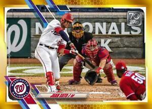 2021 Topps MLB Digital NFT Series 1 GOLD Juan Soto Minted 376/881