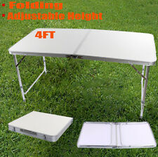 Folding Camping Table Aluminium Picnic Portable Adjustable Party & BBQ Outdoor