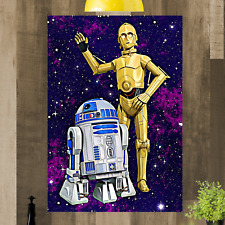 Star Wars Framed Canvas Print Art Picture Ready To Hang