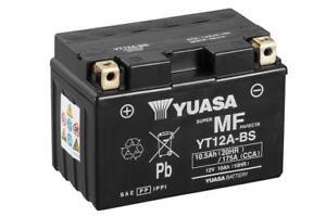 Batería Yuasa YT12A-BS Combipack (con electrolito)