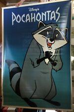 "RARE Disney POCAHONTAS (1995) Original Double-Sided Vinyl Theater 68""x47"" Banner"