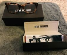 Cutler and Gross 1029 Pink Havana Glasses