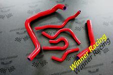 "RED SILICONE RADIATOR&COOLANT HOSE""FIT""Acura/Honda Integra Type-R DC2 B18C 95-00"