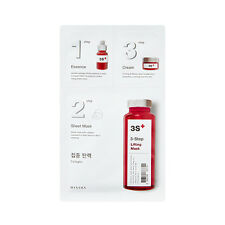 [MISSHA] 3-Step Sheet Mask (Collagen) 15g+22g+1.5g / All in one Mask pack New