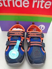 New! Stride rite Made 2 play Machine Washable 6.5 W 6 1/2 T W Boys shoes  $38